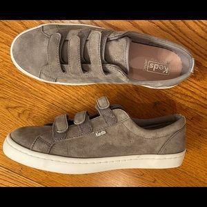 NWOT Keds Suede Sneaker, Gray